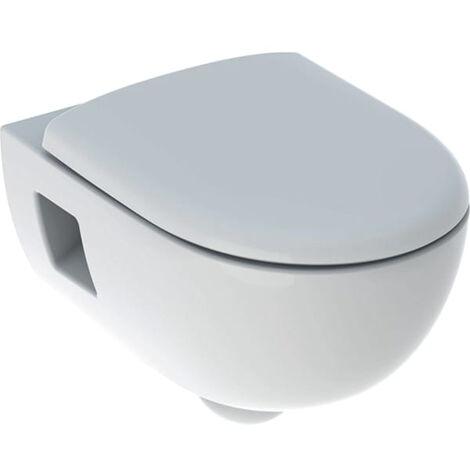 "main image of ""Pack wc suspendu à fond creux Renova GEBERIT - semi-caréné - Rimfree - avec abattant - 500.800.00.1"""