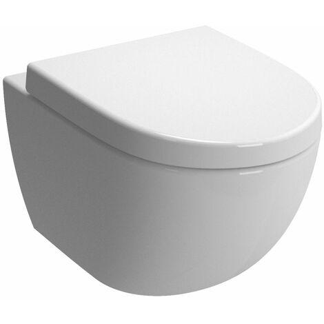 Pack WC suspendu ALTERNA Daily O2 avec abattant frein de chute declipsable