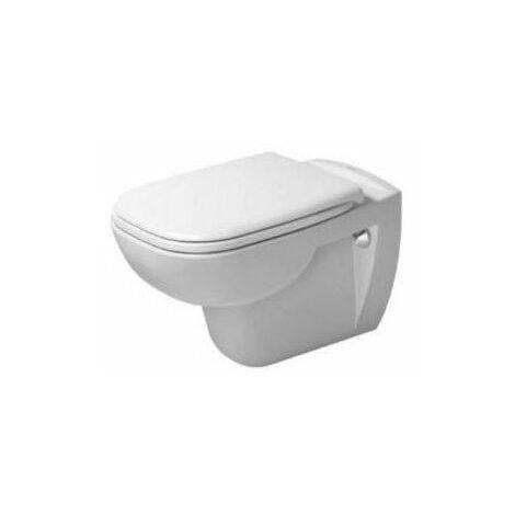 Pack WC suspendu D-CODE - 35.5x54.5cm - Rimless® - Blanc