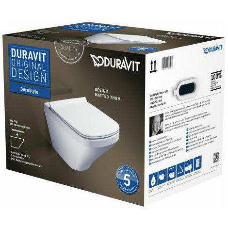 Pack WC suspendu Duravit DuraStyle