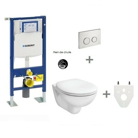 Pack Wc Suspendu Geberit Autoportant Sigma20 Inox