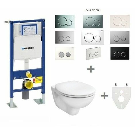 "main image of ""Pack WC suspendu Geberit autoportant"""