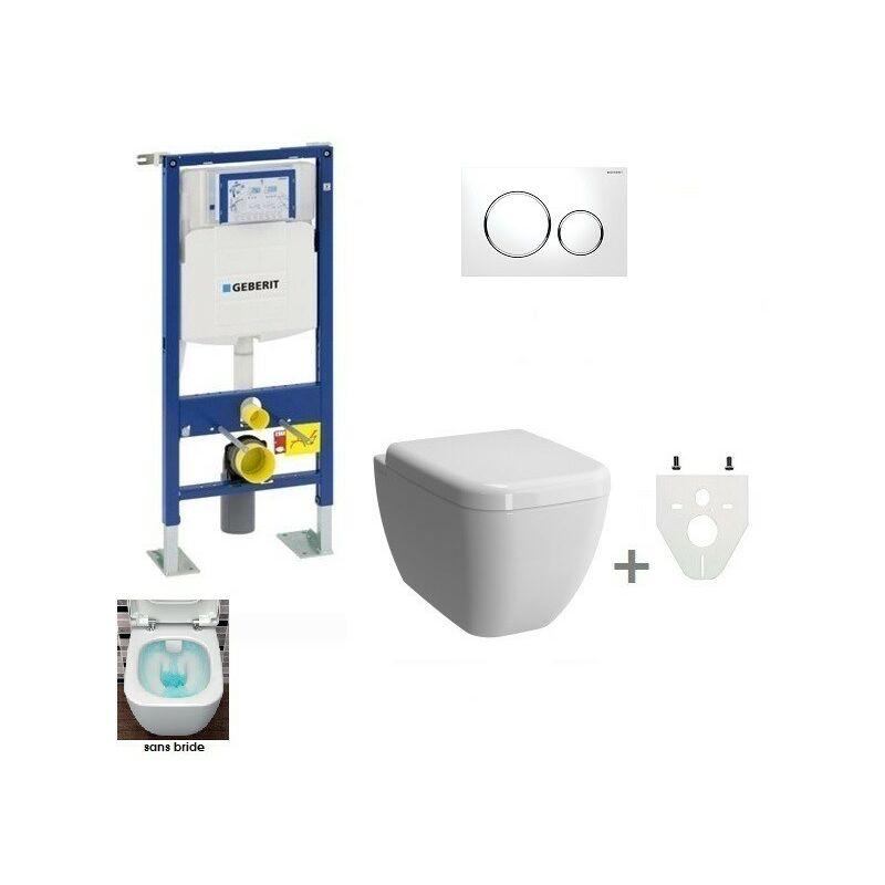 pack wc suspendu geberit daily'c sans bride  sigma20
