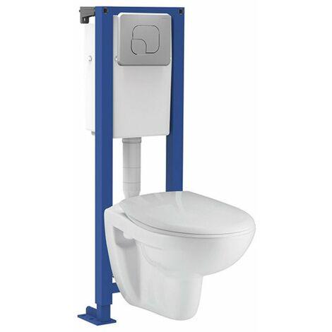 Pack wc suspendu grenat nf - SIAMP