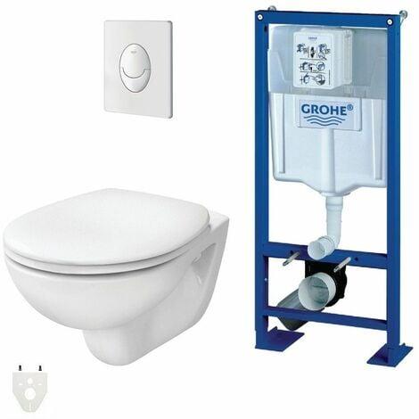 pack wc suspendu grohe autoportant packgroheautoportant. Black Bedroom Furniture Sets. Home Design Ideas
