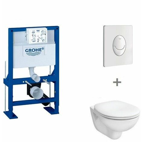 Pack WC suspendu hauteur réduite Grohe