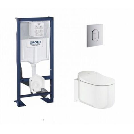 Pack WC suspendu Japonais SENSIA GROHE