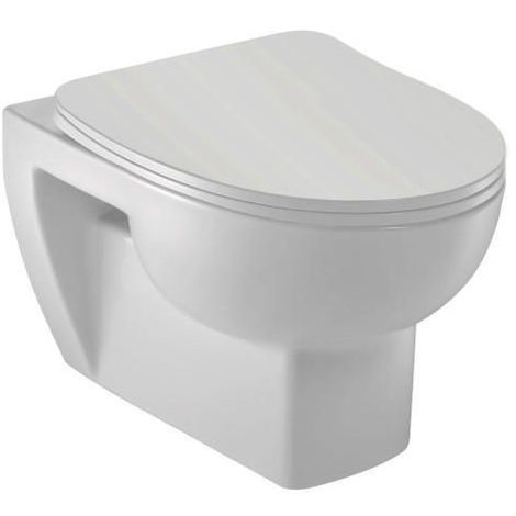 Pack WC suspendu OdéonUp sans bride AFC déclipsable slim