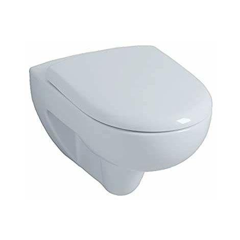 Pack WC suspendu PRIMA avec abattant standard.