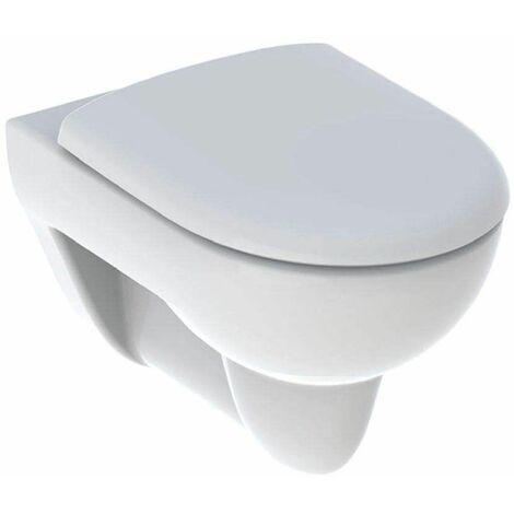 Pack WC suspendu RENOVA avec abattant standard.