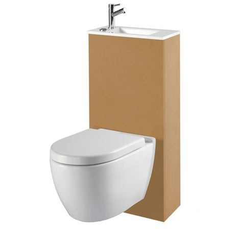 pack wc suspendu rimless avec lave mains int gr. Black Bedroom Furniture Sets. Home Design Ideas