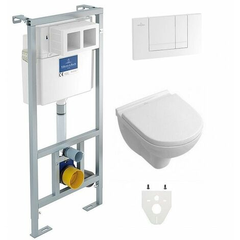 Pack Wc suspendu ViConnect cuvette O.novo sans bride