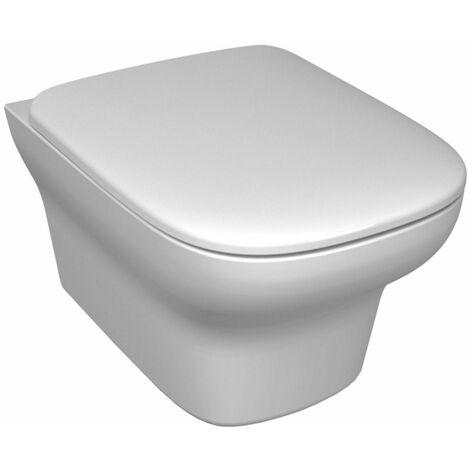 PACK WC SUSPENDU VOX CUVETTE AVEC FIXATIONS INVISIBLES ET ABATTANT A DESCENTE PROGRESSIVE