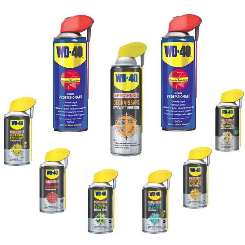 PACK WD40 10 produits de la gamme WD40 SPECIALIST 108.47