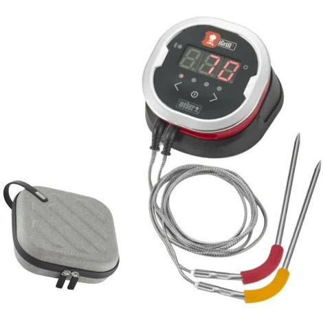 Pack WEBER Thermomètre connecté iGrill2 - un étui pour rangement et transport