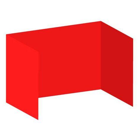 "main image of ""Packs Laterales Carpas Plegables - Pack 3 Laterales Lisos para Carpas 3x3 Eco - Rojo"""