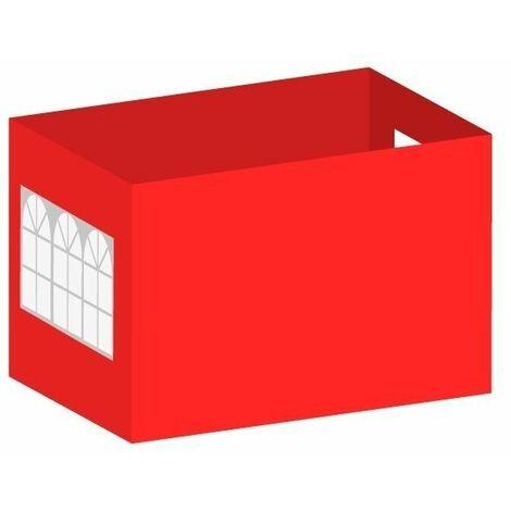 Packs Laterales Carpas Plegables - Pack 4 Laterales para Carpas 3x2 Master 2L1V1P - Azul