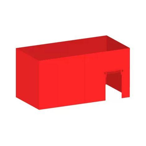 Packs Laterales Carpas Plegables - Pack 4 Laterales para Carpas 3x6 Master 5L1P - Rojo