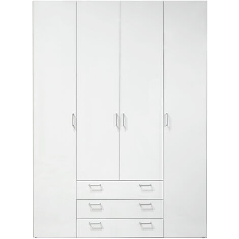 "main image of ""Pacon Bedroom Wardrobe - White"""