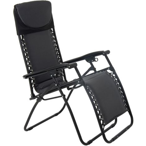 Padded Relaxer - Charcoal