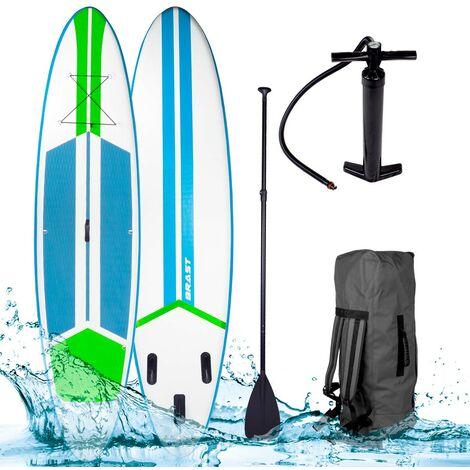 Paddle gonflable GALAXY 10`6 20psi 120kg 15cm kit complet – couleurs différents
