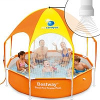 Paddling Pool Bestway Splash-in-Shade Ø 244 cm Kids Childrens