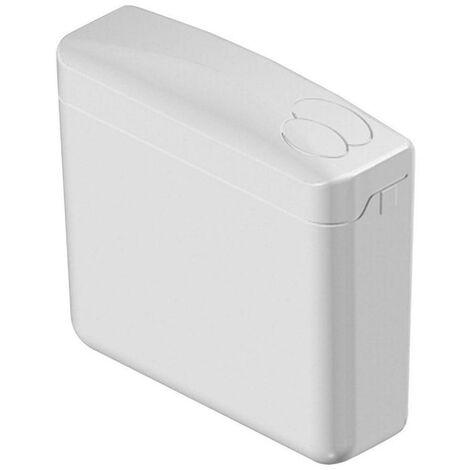 Pagette Aufputz-Spülkasten Ecoplus weiß, 6-9 l, 2-Mengen-Technik