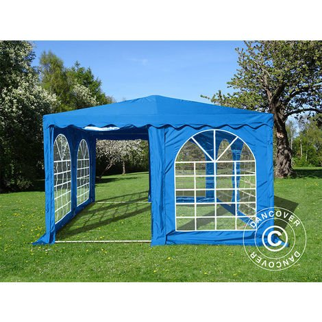 Pagoda Marquee Party tent Pavilion UNICO 4x4 m, Blue