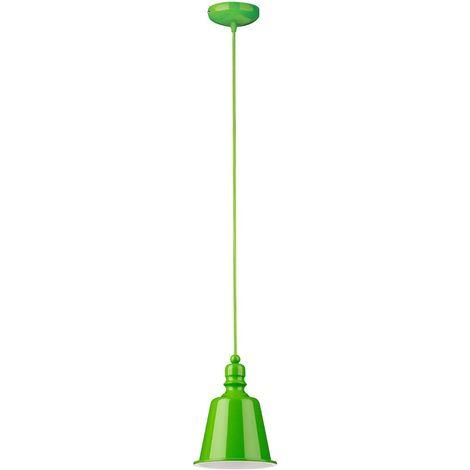 Pagoda Pendant Light, Lime Green