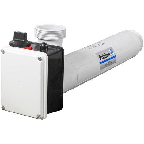 Pahlen Elektroheizer aus Kunststoff mit Heizstab aus Incoloy