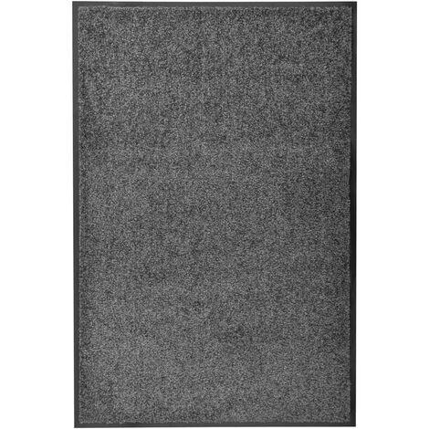 Paillasson lavable Anthracite 60x90 cm