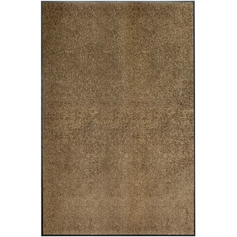 Paillasson lavable Marron 120x180 cm