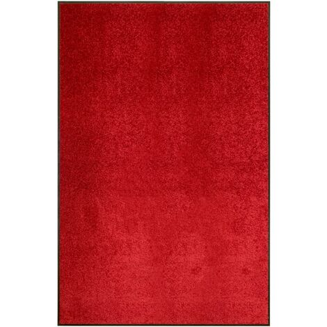 Paillasson lavable Rouge 120x180 cm