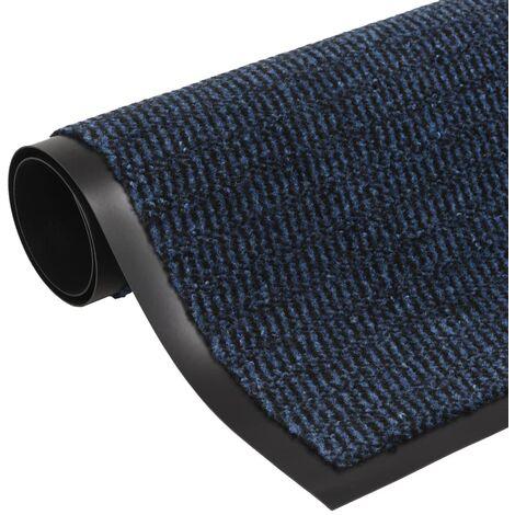 Paillasson rectangulaire 120 x 180 cm Bleu