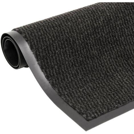 Paillasson rectangulaire 40 x 60 cm Noir