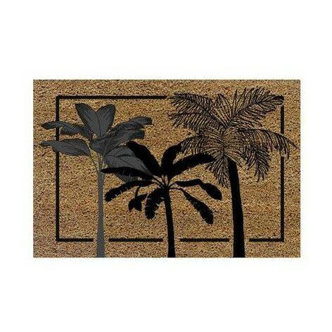 Paillasson rectangulaire - L 40 x H 60 cm - Palmito - Livraison gratuite