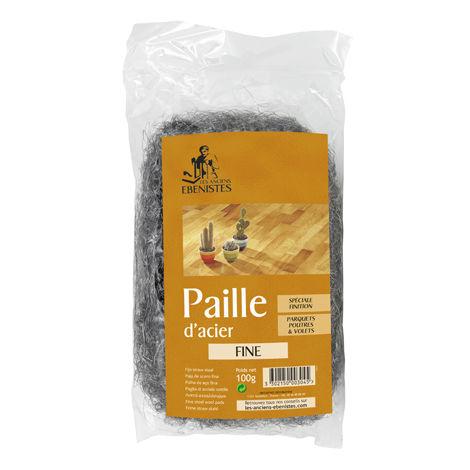 PAILLE D'ACIER PETITE N°0 100G - Les anciens ébénistes