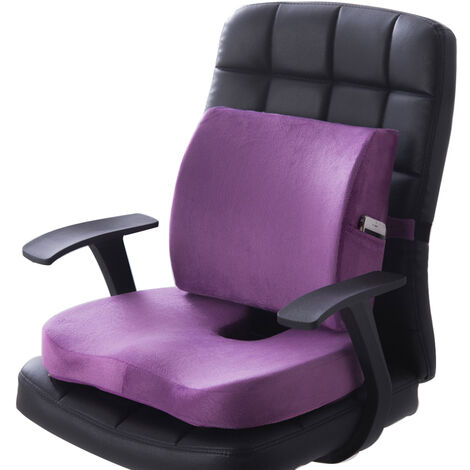 """main image of """"Pain Relief Chair Memory Foam Lumbar Cushion Back Support Pillow Car Seat"""""""