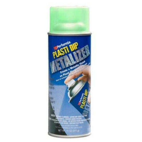 Paint finish aerosol Plasti Dip Metallic green 400ml