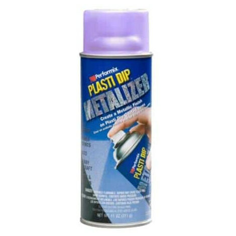 paint finishing spray 400ml Plasti Dip Purple Metallic