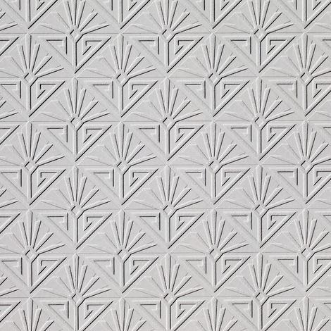 Paintable Wallpaper Deco Paradiso Textured Embossed Luxury Vinyl Anaglypta