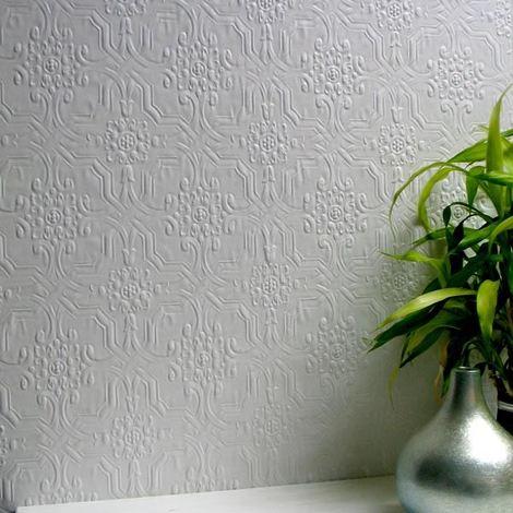 Paintable Wallpaper Luxury Embossed Textured Berkeley Easy Apply Anaglypta