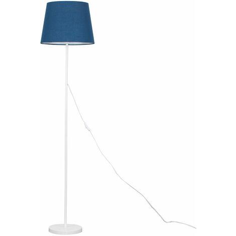 Painted White Floor Lamp Light Shades