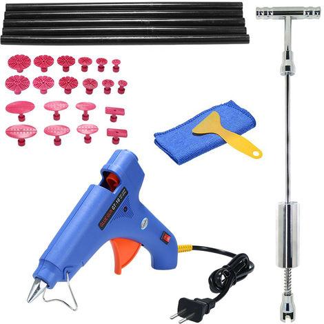 Paintless Dent Puller Slide Hammer Repairing Removal Hail Glue Device Tools Kit