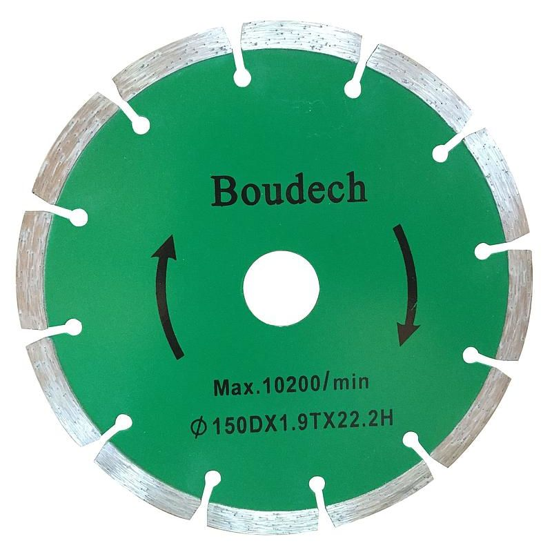 Image of Boudech - Pair of 2x wall chaser diamond discs 150mm for Grooving Cutting Machine