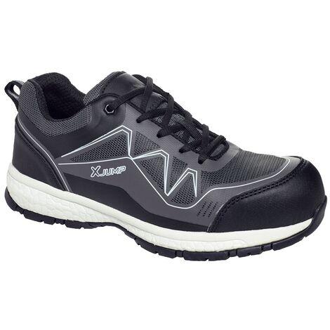 Paire de chaussures de sécurité multi-usages Solidur XJUMP Noir