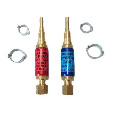 Paire de clapets ARPF CF OX/GAZ M12x100