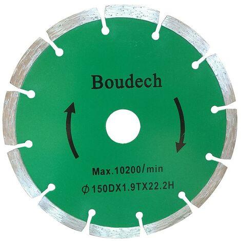 Paire de disques diamantés 2X 150Mm pour rainureuse Disque de coupe Machine à rainurer Plaque de plâtre murale