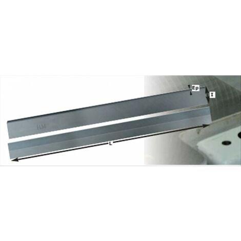 Paire de fers carbure rabot dégauchisseuse 200 mm kity bestcombi