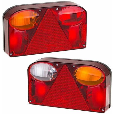 Paire de feux stop arri/ère gauche et droite.
